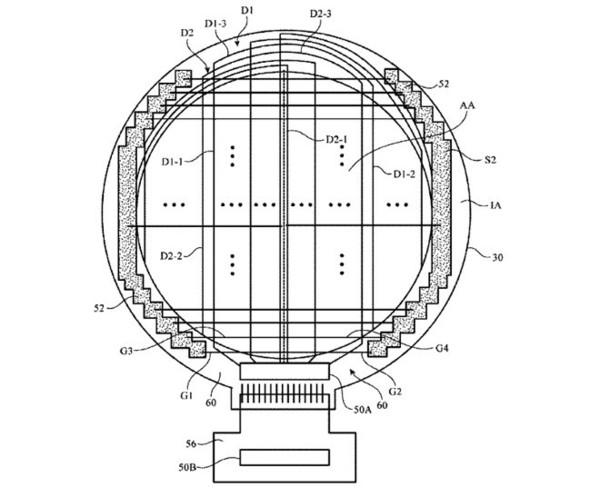 Apple Watch专利图