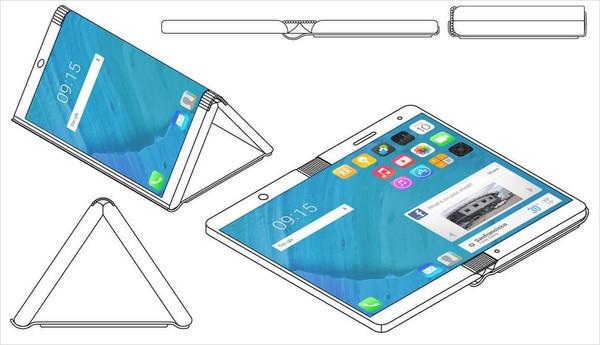 摩托罗拉获新专利 折叠手机秒变平板