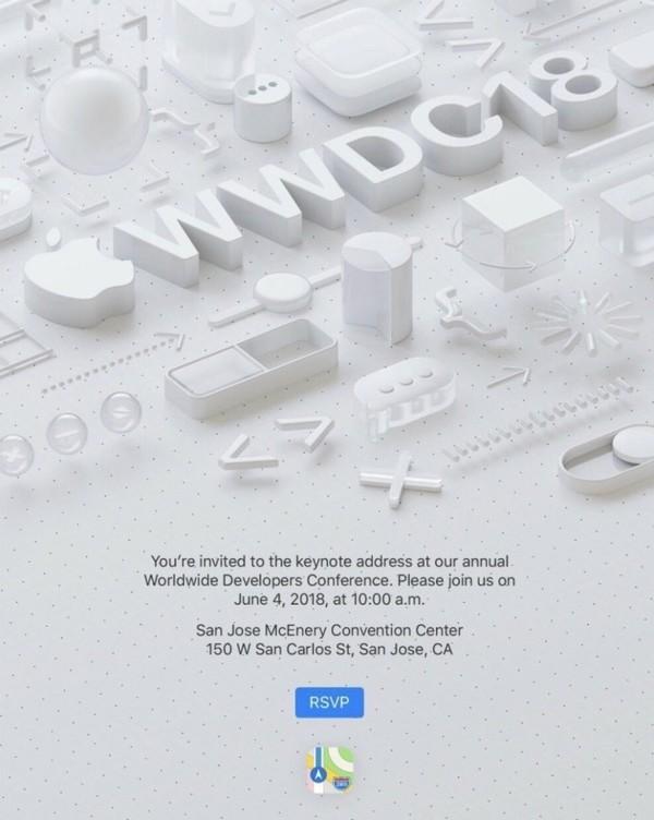 苹果WWDC2018日期确定!或有重大更新