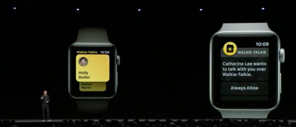 手表变成对讲机?watchOS 5带来新变化