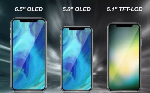 苹果今年或推3款全面屏iPhone