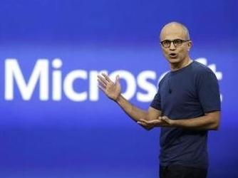 不依靠Windows 他把微软的股价翻了三倍