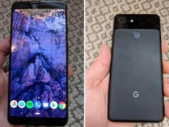 谷歌Pixel 3外观配置全曝光 前置双摄!