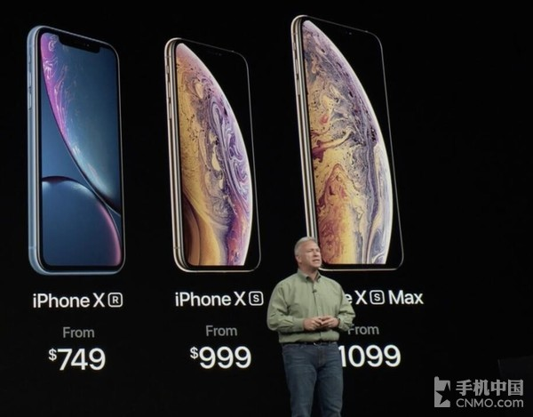 iPhone XS/XS MAX/XR价格