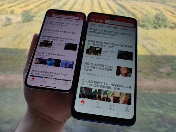 續航測試:榮耀8X Max 與 iPhone X