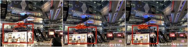 iPhone X和iPhone XS Max室内复杂光源对比样张