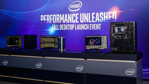 英特尔推出一系列新品处理器
