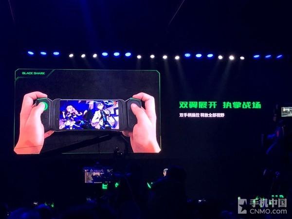 黑鲨游戏手机Helo发布 酷炫到没朋友£¡