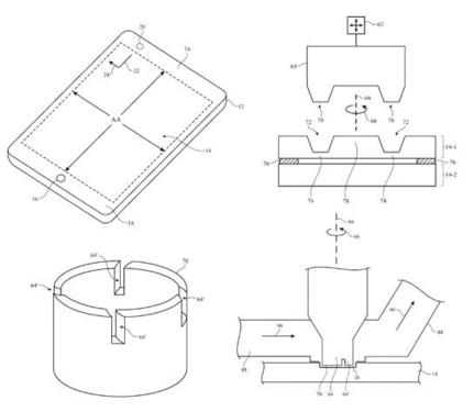 蘋果申請顯示孔制造技術專利
