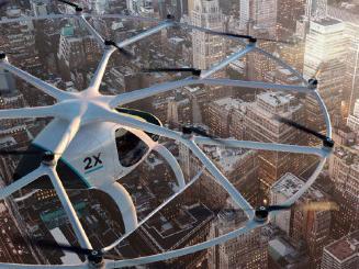 Volocopter明年測試自動駕駛空中出租車