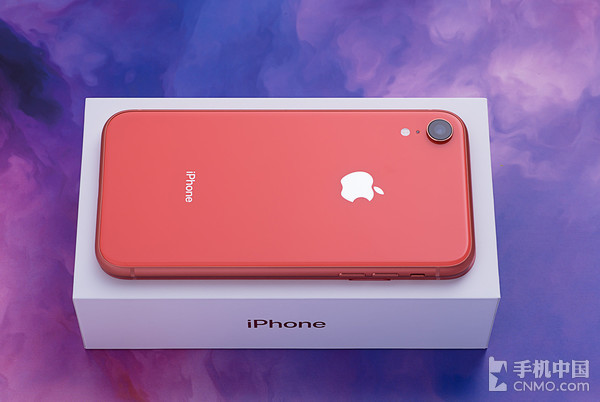 iPhone XR珊瑚红