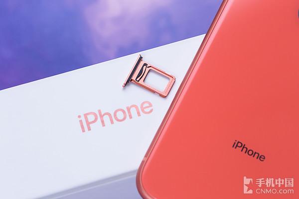 iPhone XR拥有双卡双待