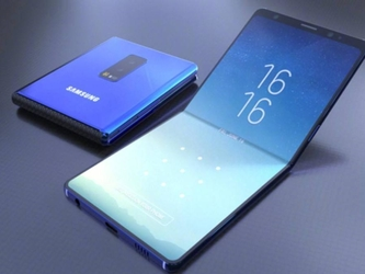 三星折叠手机Galaxy F曝光 全面屏终结?