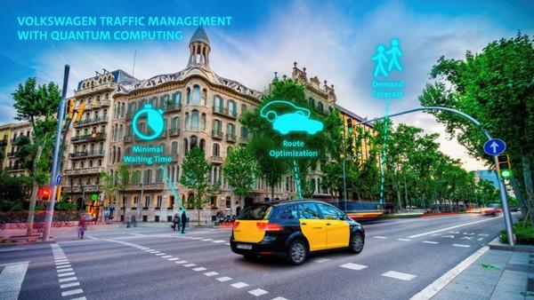 用量子計算機來優化交通管理