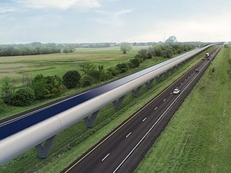 吉利将推出超音速列车 时速可达1000公里