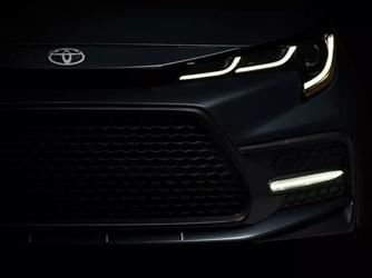 2020款新丰田卡罗拉前脸 将于周四发布
