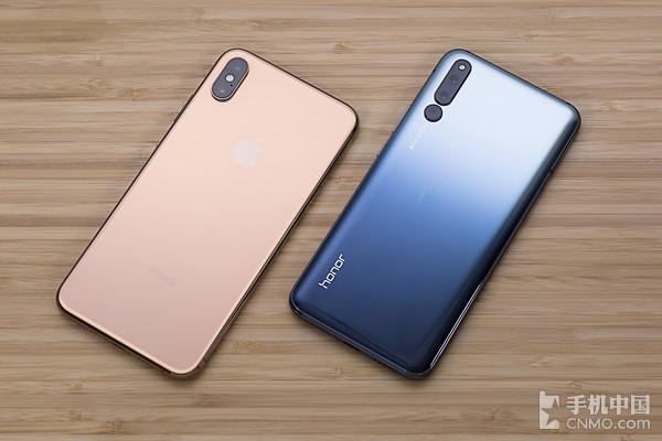 iPhone XS Max与荣耀Magic2