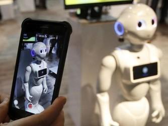 劳动力短缺 日本软银发布AI吸尘机器人