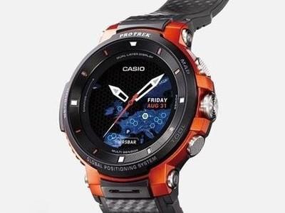 卡西欧新智能手表曝光 针对户外运动设计