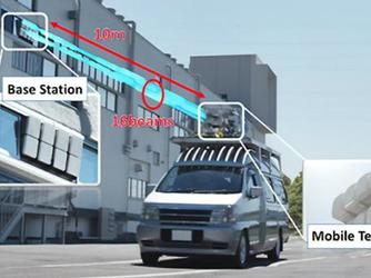 日本运营商联手三菱 破最快5G车内速度