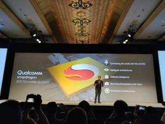 骁龙855初亮相 首款支持5G的移动平台