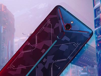 紅魔Mars電競手機將開售 竟然這么酷炫!