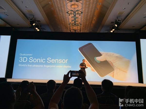 Qualcomm 3D声波传感器