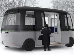 在哥伦布市 你可以乘坐自动驾驶汽车上班