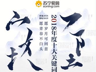 """苏宁发布2018年十大关键词,""""造梗""""消费引关注"""