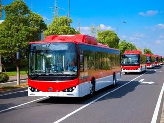 比亚迪交付拉美地区最大纯电动大巴车队
