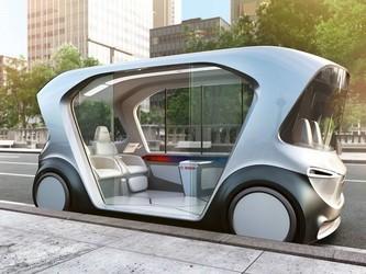 博世2019年全电动自动驾驶吊舱车面世