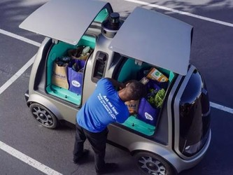 Nuro在美推出了自动克罗格食品配送舱
