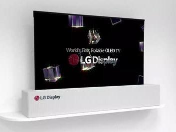 LG 65英寸可卷曲电视2019年将会上市
