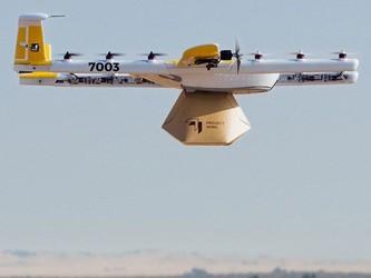 Wing开发静音无人机 避免用户噪音投诉