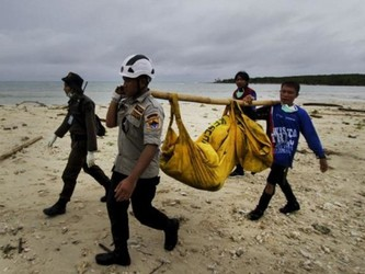 无人机参与印度尼西亚海啸后的搜救工作