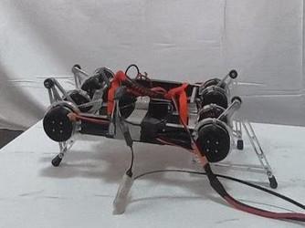 深度学习能力 人工智能教机器人走路!
