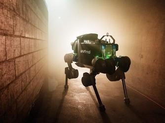 四足机器人ANYmal苏黎世的下水道冒险