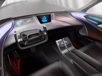 丰田自动驾驶汽车 能舒缓情绪你的情绪
