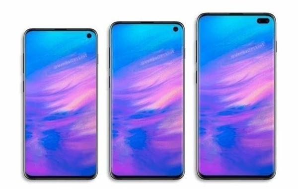 三星S10系列的三部手机