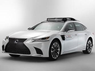 丰田新自动驾驶原型车TRI-P4官方图发布 外观硬朗