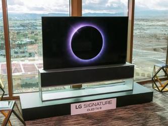 CES2019 LG发布OLED可卷曲电视 扩大人工智能朋友圈