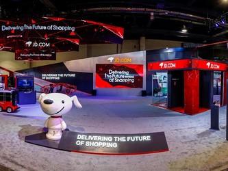 首次亮相CES的京东 向世界展示了何为未来零售业
