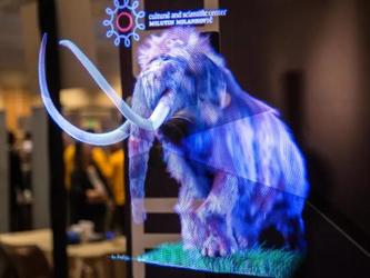 科幻世界?CES2019 Hypervsn展示酷炫3D全息图像