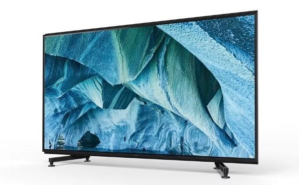 索尼Master系列8K Z9G电视有85英寸和98英寸两种尺寸