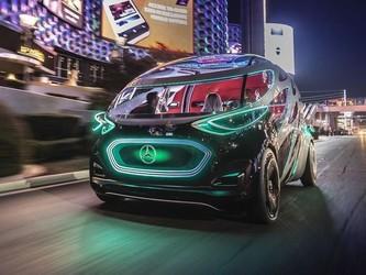 奔驰推出Vision Urbanetic概念车 比AGM还酷!