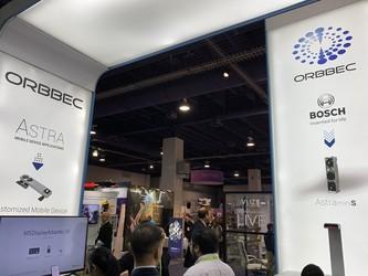 奥比中光亮相CES2019 3D传感体验最前沿的科技生活