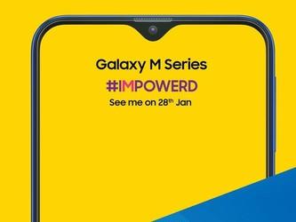 三星Galaxy M系列手机上线印度官网 外观看着眼熟