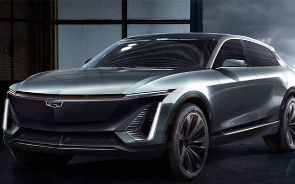 近日,通用汽车分享了凯迪拉克计划推出的第一款全电动汽车的照片.