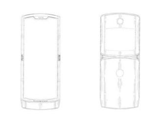 摩托罗拉公布新设计专利 折叠屏新机神似RAZR V3