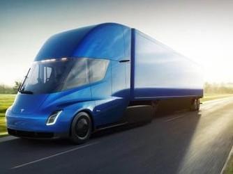 特斯拉Semi电动卡车再次被曝光 成为运送货物的首选